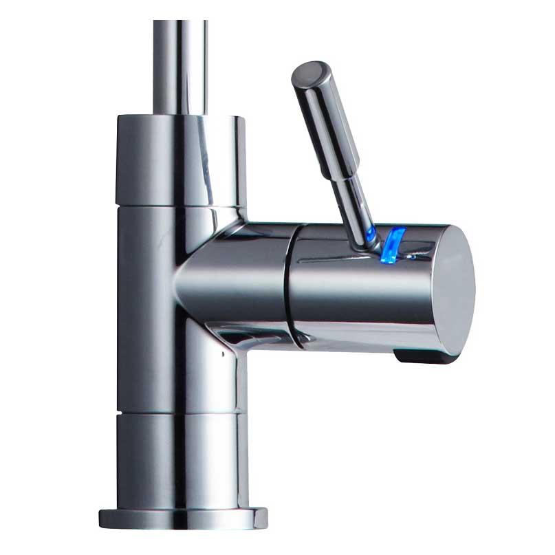 Wasserhähne  Maranon LED Wasserhahn Chrom ~ Wasserhahn Led